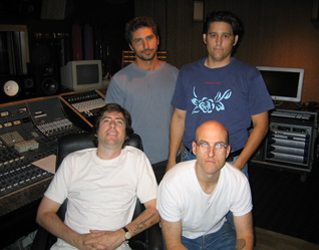 The Quartet at Hollywood Sound Recorders where the entire record was recorded.