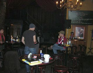Backstage in Halle at Objekt 5. i played there Feb. 2005. One of my faves.