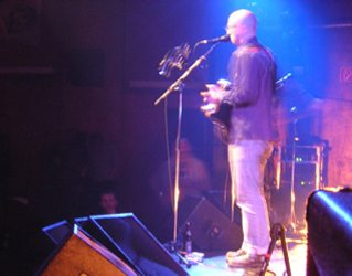 Sid (the real Sid) on stage in Ebensee, Austria.
