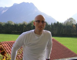 Outside the hotel in Austria. I decided Austria is too beautiful.